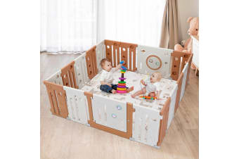 Baby Playpen 18 Panel Safety Play Room Kids Activity Centre