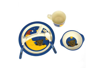 Bamboozoo Dinnerware Bear & Rabbit 5pce
