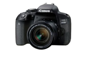 New Canon EOS 800D Kit with 18-55mm IS STM Digital Camera Black (FREE DELIVERY + 1 YEAR AU WARRANTY)