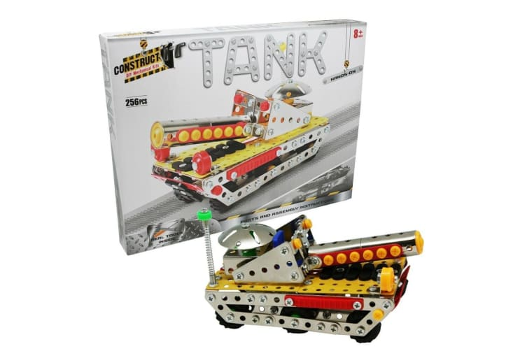 Construct It Tank Kit with 256 Pieces