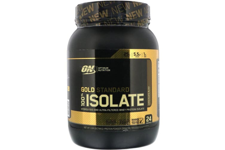 Optimum Nutrition, Gold Standard, 100% Isolate, Chocolate Bliss