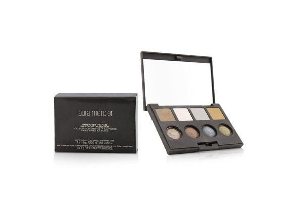 Laura Mercier Paris After The Rain Eye Colour Collection (4x Matte Eye Colour, 4x Multi Chrome Pearl Topper) (-)
