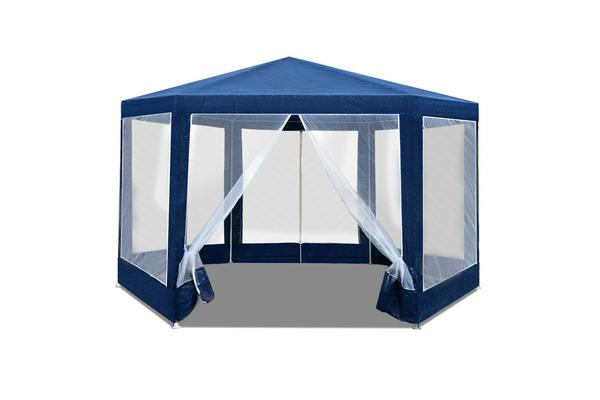 Instahut Wedding Gazebo Net Party Tent Marquee Canopy Outdoor Camping