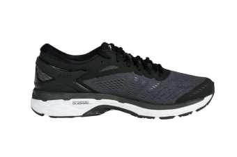 ASICS Men's Gel-Kayano 24 Running Shoe (Black/Phantom/White)