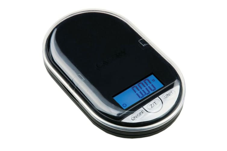 Acurite Digital Pocket Kitchen Scale 200g Gram Capacity Food Weight Cooking BLK