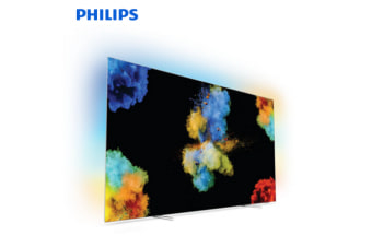 "PHILIPS 65"" 4K UHD Premium Bezel-less Ultra-Slim OLED TV"