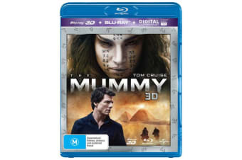 The Mummy 3D Edition with 2D Edition Digital Download Blu-ray Region B