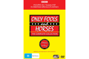 Only Fools and Horses The Complete Collection Box Set DVD Region 4