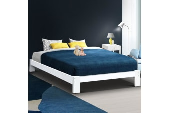 Double Wooden Bed Base Frame Size JADE Timber Foundation Mattress