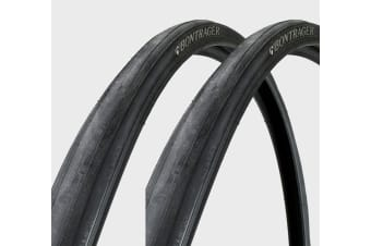 2 x BONTRAGER R1 Road Bike Bicycle Clincher Wire Bead Tyre 700 x 23C