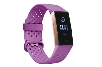 Fitbit Charge 3 (Rose Gold, Berry)