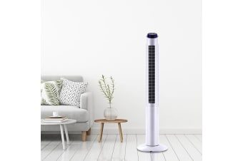 Tower Fan With Remote Oscillating Portable Fans Control Timer 122cm 48