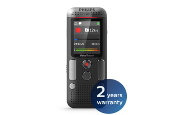Philips 8GB 2 Mic Voice Tracer Audio Recorder (DVT2510)