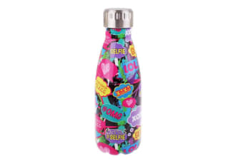 Oasis 350ml Stainless Steel Double Wall Insulated Drink Bottle Cup Youth Culture