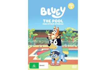 Bluey Volume 3 The Pool and Other Stories DVD Region 4
