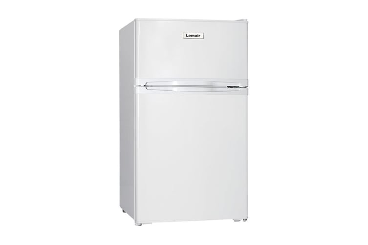 Lemair Top Mount Compact 87L Refrigerator - White (RQ87TD)