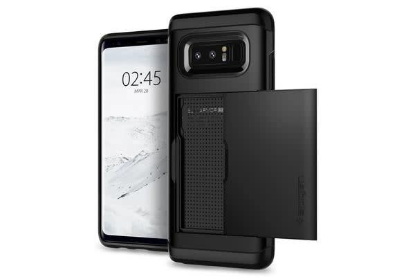 Spigen Galaxy Note 8 Slim Armor CS Case Black