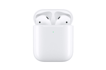 Apple AirPods 2nd Gen Bluetooth Headphones with Wireless Charging Case