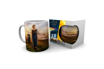 Dr Who 13th Doctor Ceramic Mug (Multicolour) (One Size)