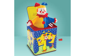 Jester Jack-in-the-Box Treto Wind-up Kids Toy | Schylling | 18mths +