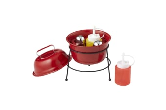 Giftworks Mini Bbq Condiment Set