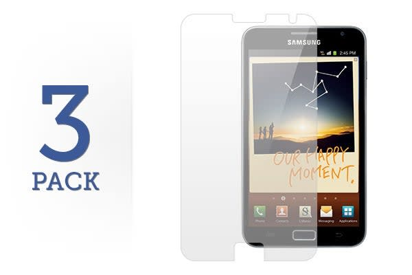 3 Pack Screen Protector for Samsung Galaxy Note