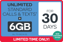 Kogan Mobile Prepaid Voucher Code: MEDIUM (30 Days | 6GB) - NEW CUSTOMERS ONLY