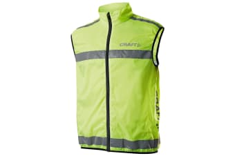 Craft Active Run Hi-Vis Safety Vest / Safetywear (Neon)