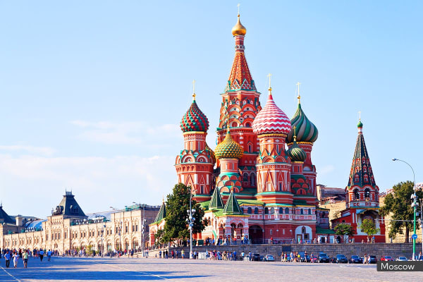 RUSSIA: 16 Day Russia Tour & River Cruise Including Flights for Two