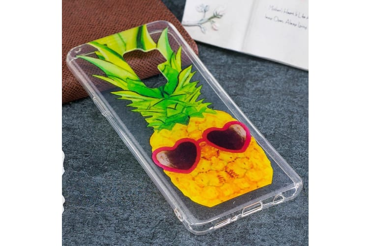For Samsung Galaxy S9 PLUS Back Case Stylish Pineapple Durable Protective Cover