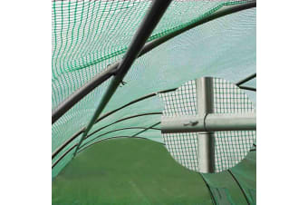 6X3X2M In Greenhouse Tunnel Plant 6M X3M Garden Sheds Green House