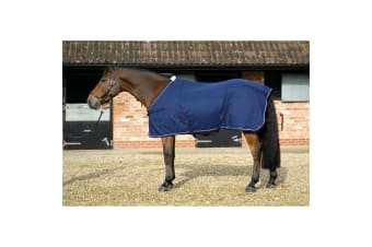Mark Todd Pro Cotton Sheet (Navy) (7 ft)
