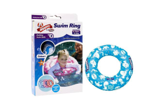 Wahu Nippas Swim Ring in Blue
