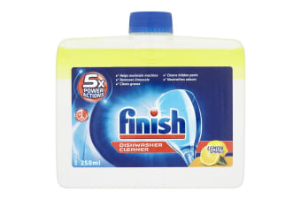 Finish Dishwasher Machine Monthly Cleaner/Remove Grease/Limescale Lemon Sparkle