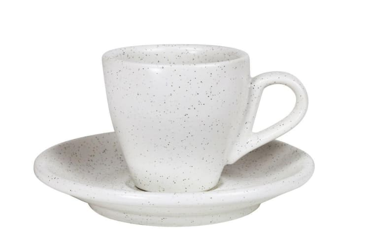 Robert Gordon The Standard Espresso Cup and Saucer 75ml Shell Set of 4