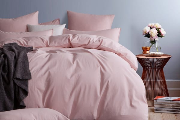 Gioia Casa Corduroy Quilt Cover Set (Queen/Pink)