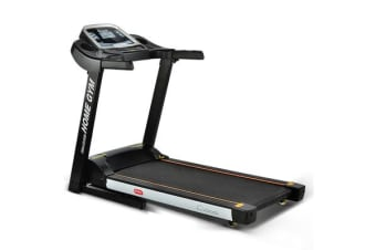 Home Electric Treadmill (Black/White)