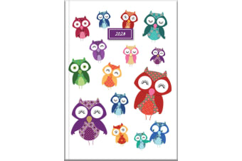 Owls - 2020 Diary Planner A5 Padded Cover by The Gifted Stationery