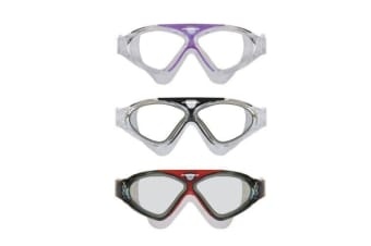 Mirage Lethal Adult Swim Goggles - Clear/Black