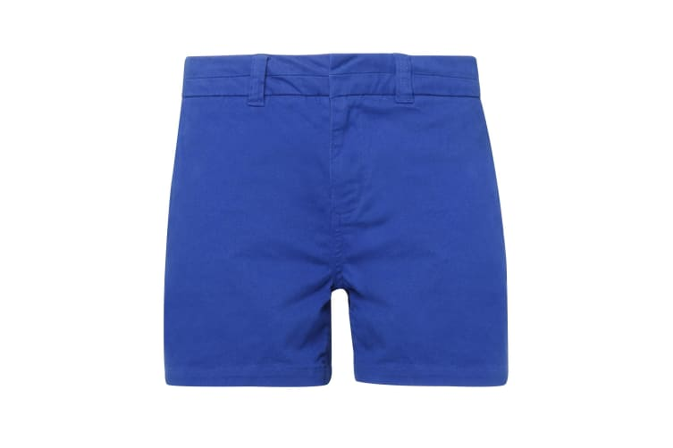 Asquith & Fox Womens/Ladies Classic Fit Shorts (Royal) (2XS)