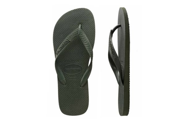 Havaianas Top Thongs (Green Olive, Brazil 41/42)