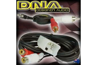DNA BA BF FALCON TERRITORY AUXILARY AUDIO INPUT ADAPTOR PLUG AND PLAY HARNESS