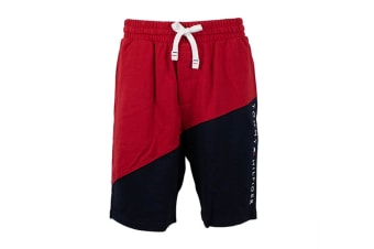 Tommy Hilfiger Men's Modern Essentials Shorts (Mahogany, Size S)