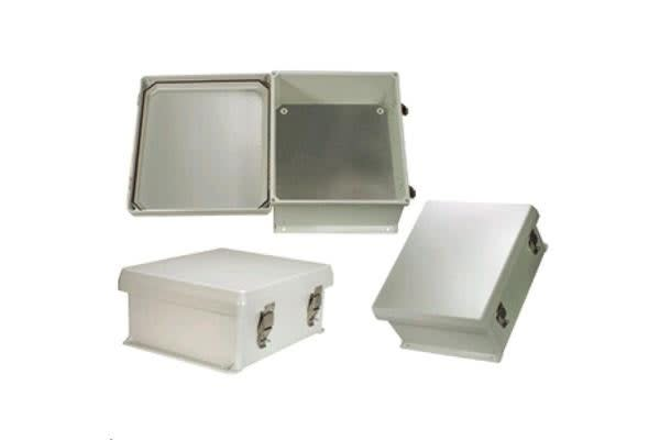 HyperLink Technologies NB121005-KIT 12x10x5 Inch Weatherproof NEMA IP66 Enclosure