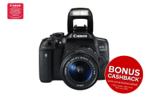 Canon EOS 750D DSLR Camera with EF-S 18-55mm f/3.5-5.6 IS STM Lens