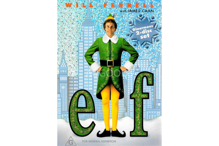 Elf - Region 4 Rare- Aus Stock DVD PREOWNED: DISC LIKE NEW