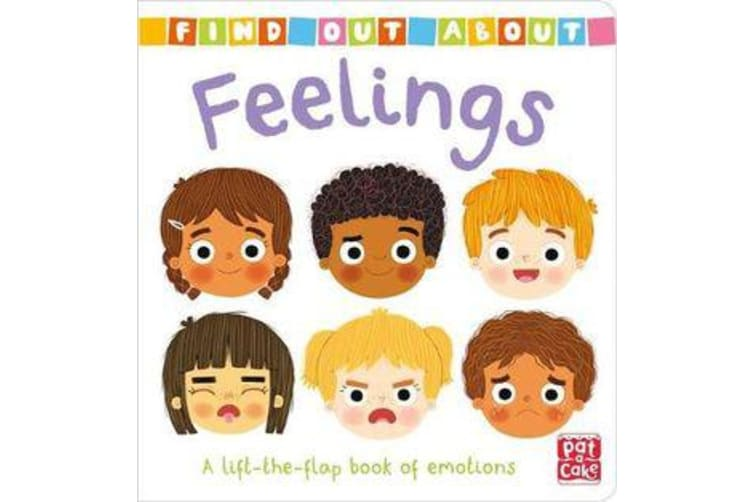 Find Out About: Feelings - A lift-the-flap book of emotions