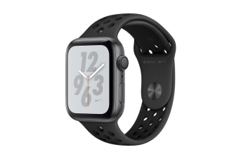 Apple Watch Nike+ Series 4 (Space Gray, 40mm, Anthracite/Black Nike Sport Band, GPS Only)
