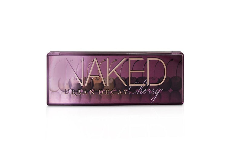 Urban Decay Naked Cherry Eyeshadow Palette: 12x Eyeshadow, 1x Double Ended Brush 12x1.1g