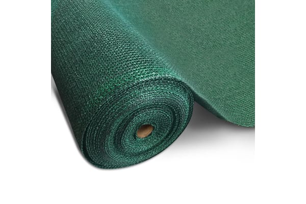 10M 70% Shade Cloth Roll -3.66M x 10M (Green)